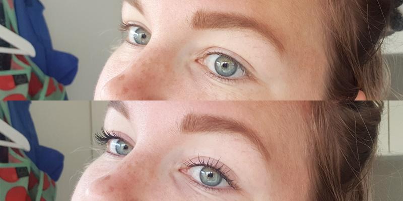 voor en na bold mascara