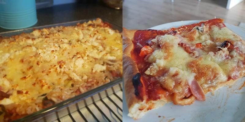 Zonder pakjes en zakjes risotto en pizza