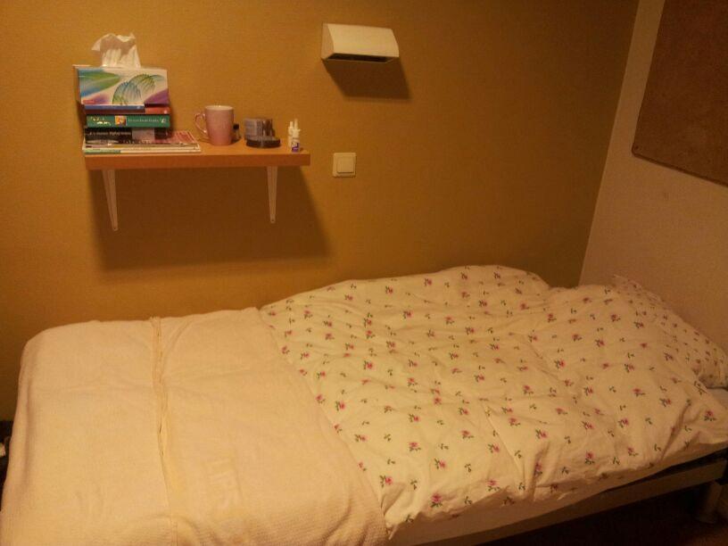 Mijn kamer tijdens mijn opname